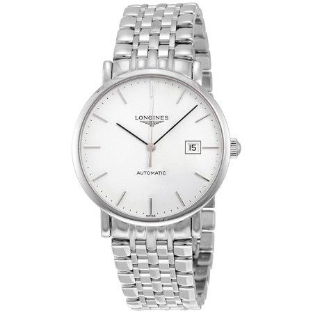 Longines Elegant Automatic White Dial Mens Watch L49104126
