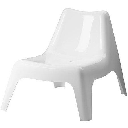 Ikea Ps Vago Chair, Chair, Outdoor, White, 626.231420.104 ()