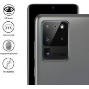 """Samsung Galaxy S20 ULTRA (6.9"""") Camera Lens Protective Tempered Glass Screen Protector Back Camera Lens, Anti-Bubble, HD 9H Crystal Clear Screen Protector Tempered Glass for Samsung Galaxy S20 Ultra"""