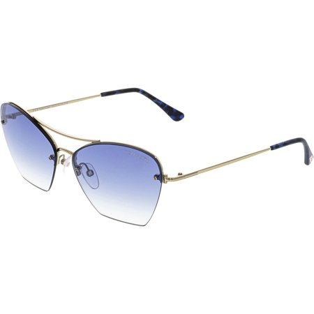 "Tom Ford Women's ""Annabel"" Semi-Rimless Sunglasses FT0507"