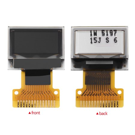 Ejoyous 0 49 inch OLED Display Module SSD1306 Resolution 64*32 I2C IIC  Interface,OLED Display, DIY Display Module - Walmart com