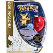 Pokemon TOMY Clip n Carry Pokeball Pikachu Figure Set [20th Anniversary]