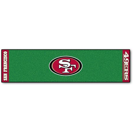 Nfl Putting Green Mat - FanMats NFL San Francisco 49ers Putting Green Mat