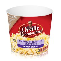 Orville Redenbacher's Movie Theater Butter Microwave Popcorn, 3.29 Oz. Tub