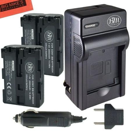 Bm Premium 2 Np Fm500h Batteries Amp Charger For Sony Alpha