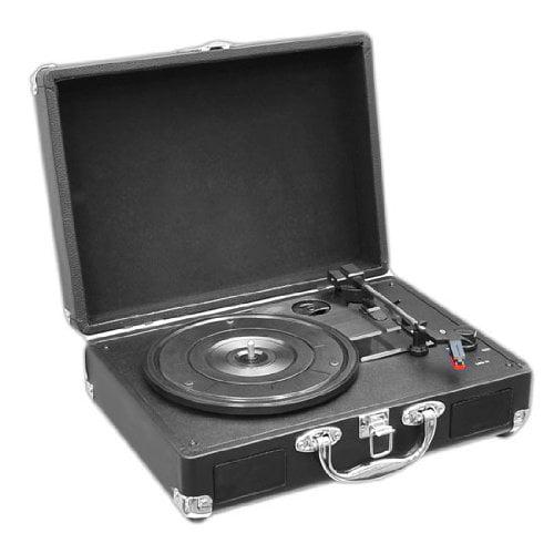 Pyle Retro Pvtt2ubk Record Turntable - Belt Drive - 33.33...