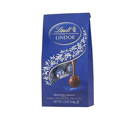 Lindt Lindor Dark Chocolate Truffle Ball, 5.1 oz (Chocolate Truffle Balls)