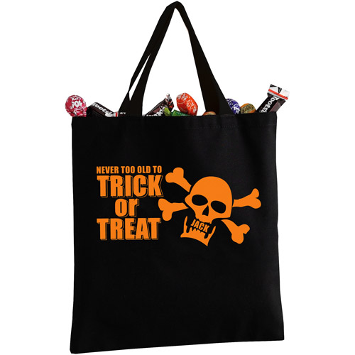 Personalized Halloween Never Too Old Tote Bag