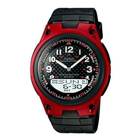 Casio 10 Year Battery Watch - Casio General Men's Watches Digital-Analog Combination with 10 Year Battery Life AW-80-4BVDF - WW