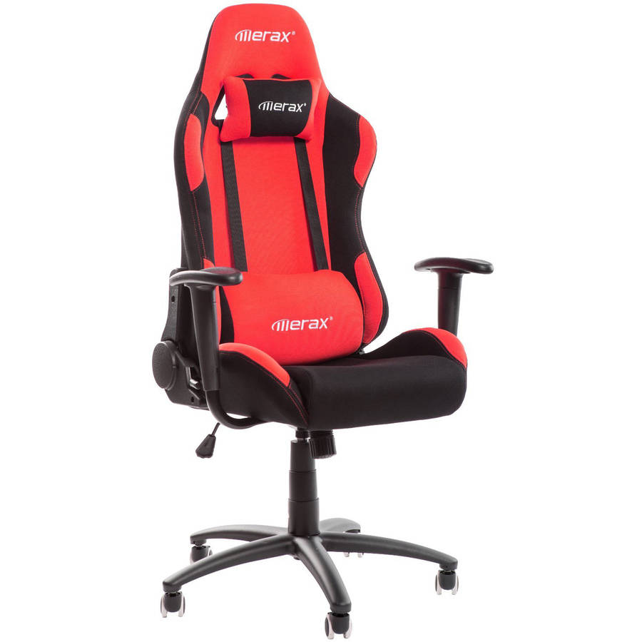 merax high back reclining fabric racing office chair computer