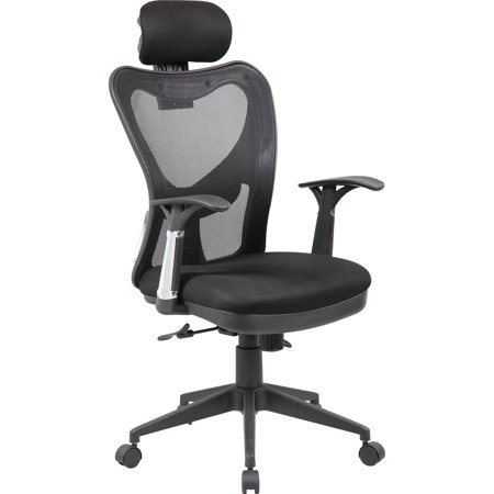 modern furniture mesh office computer chair with adjustable lumbar support headrest and multi. Black Bedroom Furniture Sets. Home Design Ideas