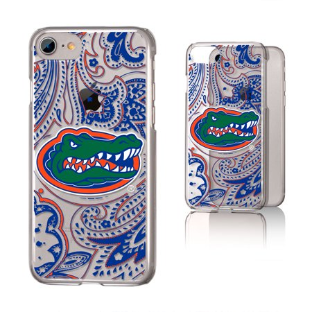 UF Florida Gators Paisley Clear Case for iPhone 8 / 7 / 6 Florida Gators Iphone Case