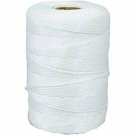 Lehigh Group NST181 800' White Nylon Seine Mason Line - Fine Beading Twine