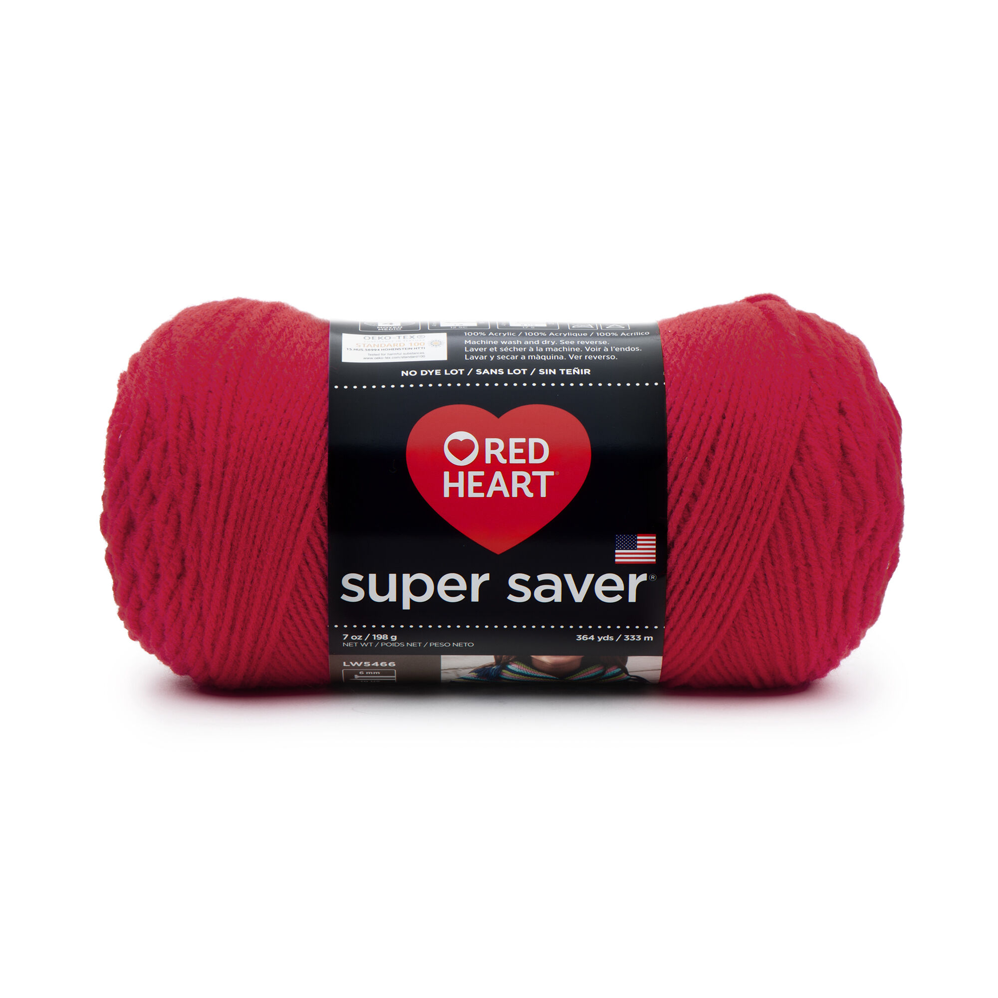- 364 yds. worsted weight Red Heart Super Saver yarn- various colors 7 oz