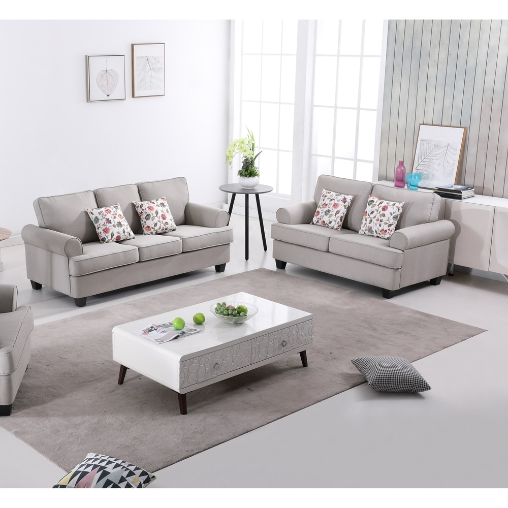 Us Pride Furniture Manning 2 Piece Living Room Set Sofa