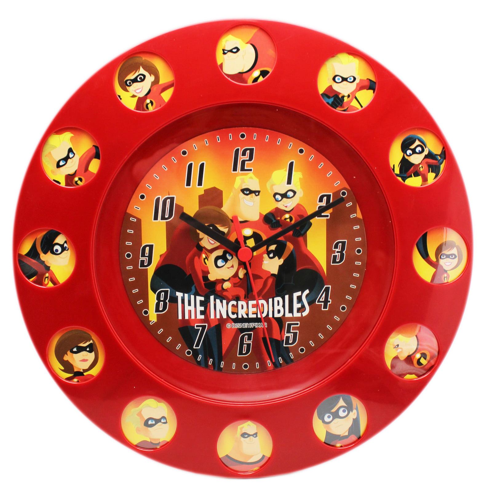 Disney Pixar's The Incredibles Family Portrait Clock