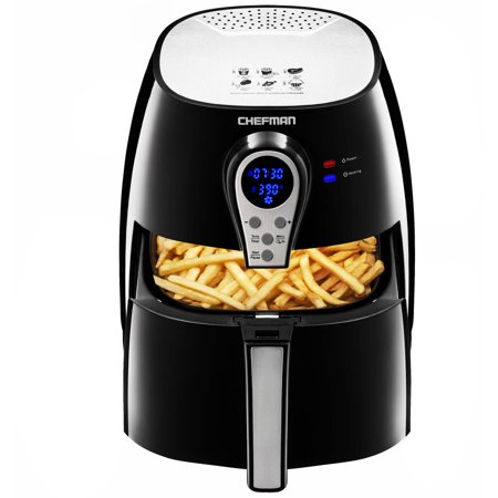 Chefman Digital Air Fryer, Rapid Hot-Air Technology, Ultra quiet, Easy...