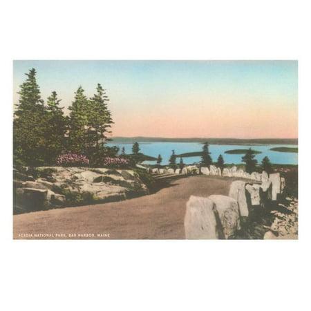 Acadia National Park, Bar Harbor, Maine Print Wall Art