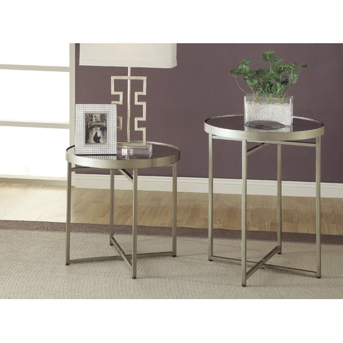 Crestview Collection Midtown 2 Piece End Table Set