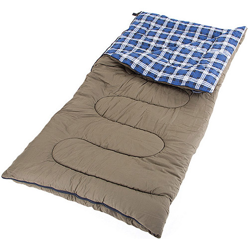 Click here to buy 5lb Canvas Sleeping Bag by Stansport.