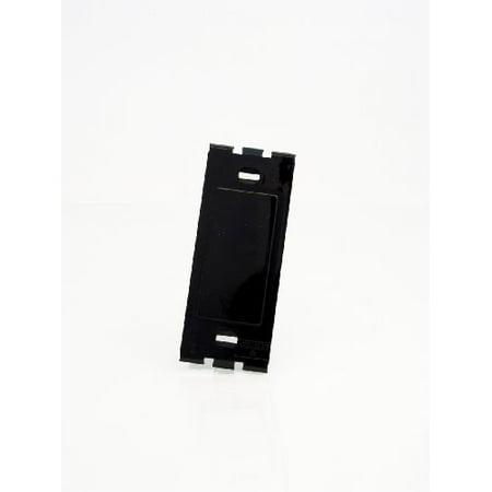 Leviton 80314-E Black Decora Plus Standard Size Blank Wall Plate Plastic Adapter