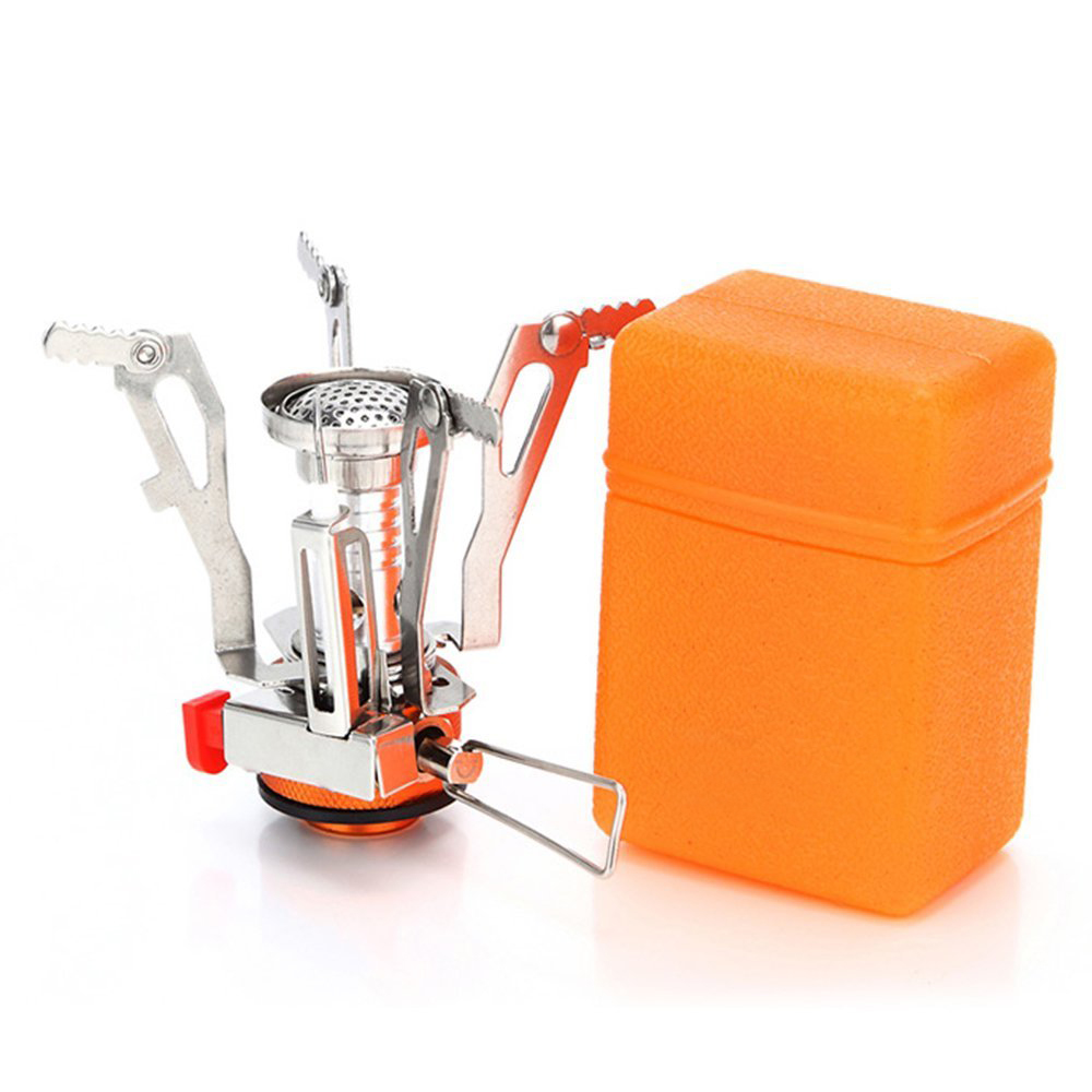 Coredy Portable Outdoor Mini Folding Camping Stove- Stainless Steel