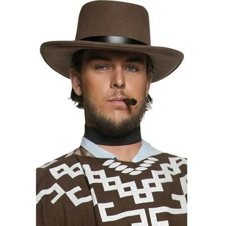 Western Hat (Western Cowboy Gunman Hat, One Size )