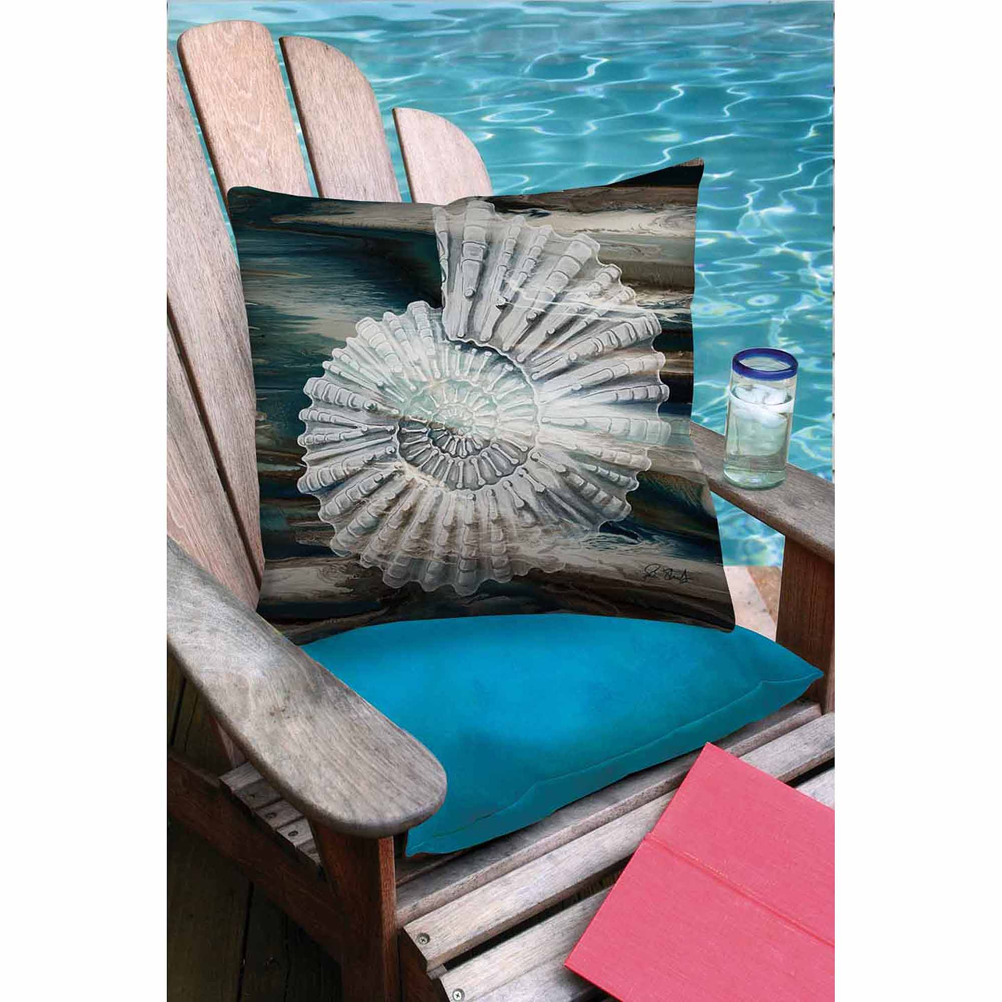 Thumbprintz Coastal Span 3 Outdoor Decorative Throw Pillow