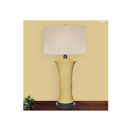 JB Hirsch Home Decor Lemonade 30'' H Table Lamp with Drum Shade