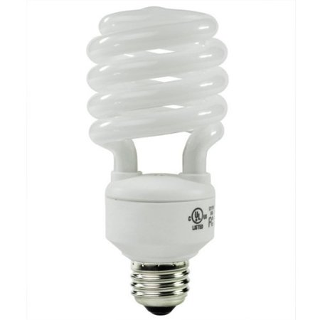 40 Watt CFL Light Bulb - Compact Fluorescent - 50 W Equal - 5000K Full Spectrum - 80 CRI - 68 Lumens per Watt - GCP 134 By Global -