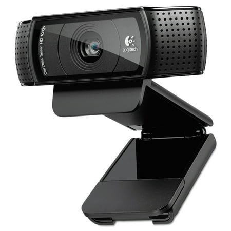 Logitech C920 Hd Pro Webcam  1080P  Black