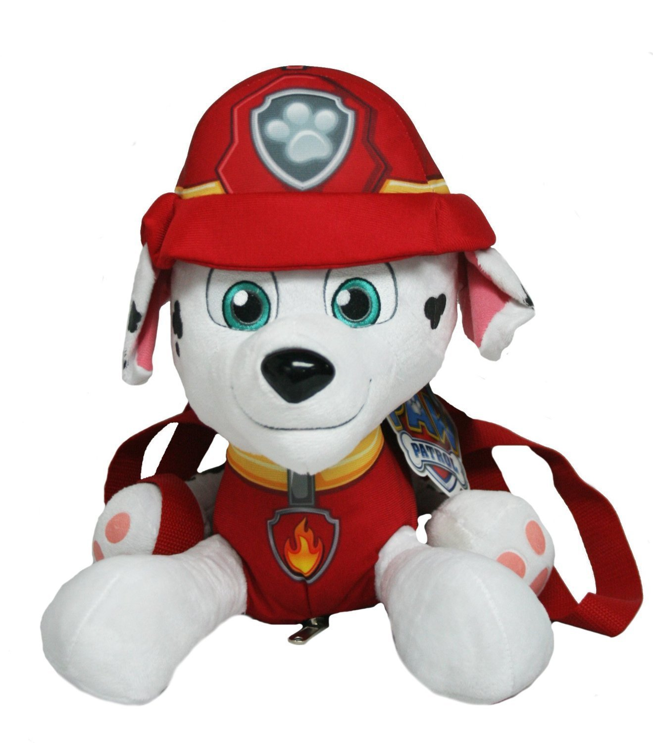 "Paw Patrol 14"" Marshall Plush Backpack Stuffed Animal, NICKELODEON PAW PATROL By... by"