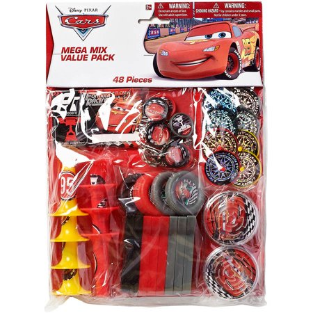 Cars Party Favor Pack, Value Pack, Party Supplies