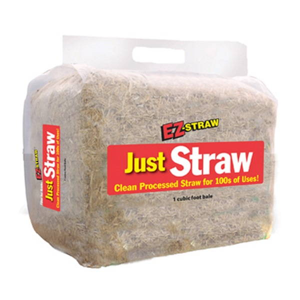 EZ-Straw All-Purpose Straw Bale, 10lbs.