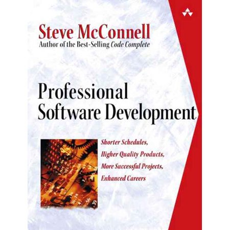 Professional Software Development  Shorter Schedules  Higher Quality Products  More Successful Projects  Enhanced Careers