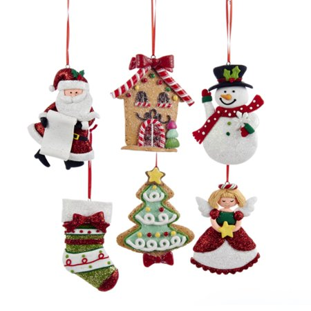 Santa claus holding naughty or nice list resin christmas List of christmas ornaments