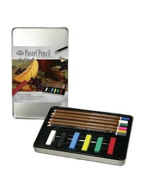 Royal Brush Pastel Pencil Small Tin Art Set