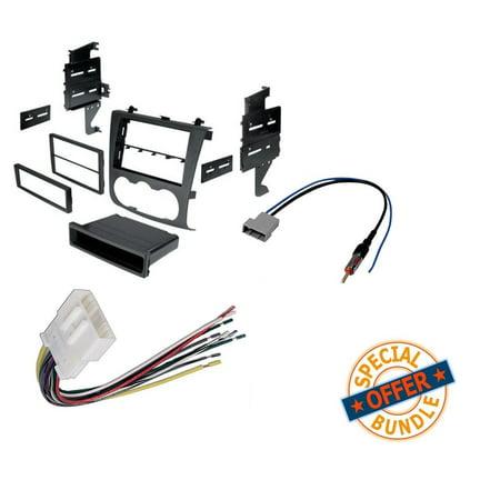 Nissan Altima 2007-2011 Double Din Radio Stereo Installation Dash Kit on