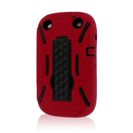MPERO IMPACT XL Series Kickstand Case for BlackBerry Curve 9310 9320 - (Blackberry Curve Red)