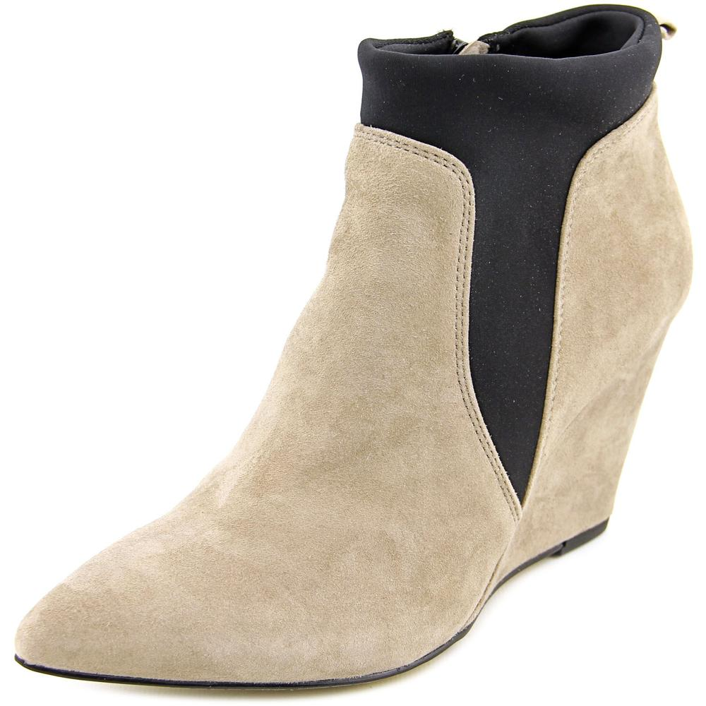 Bella Vita Deryn WW Open Toe Suede Wedge Heel by Bella Vita