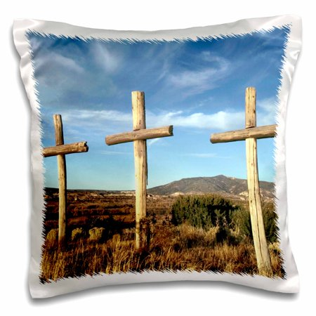 Image of 3dRose Spanish penitente morada, Christianity, NM - US32 JMR0198 - Julien McRoberts, Pillow Case, 16 by 16-inch