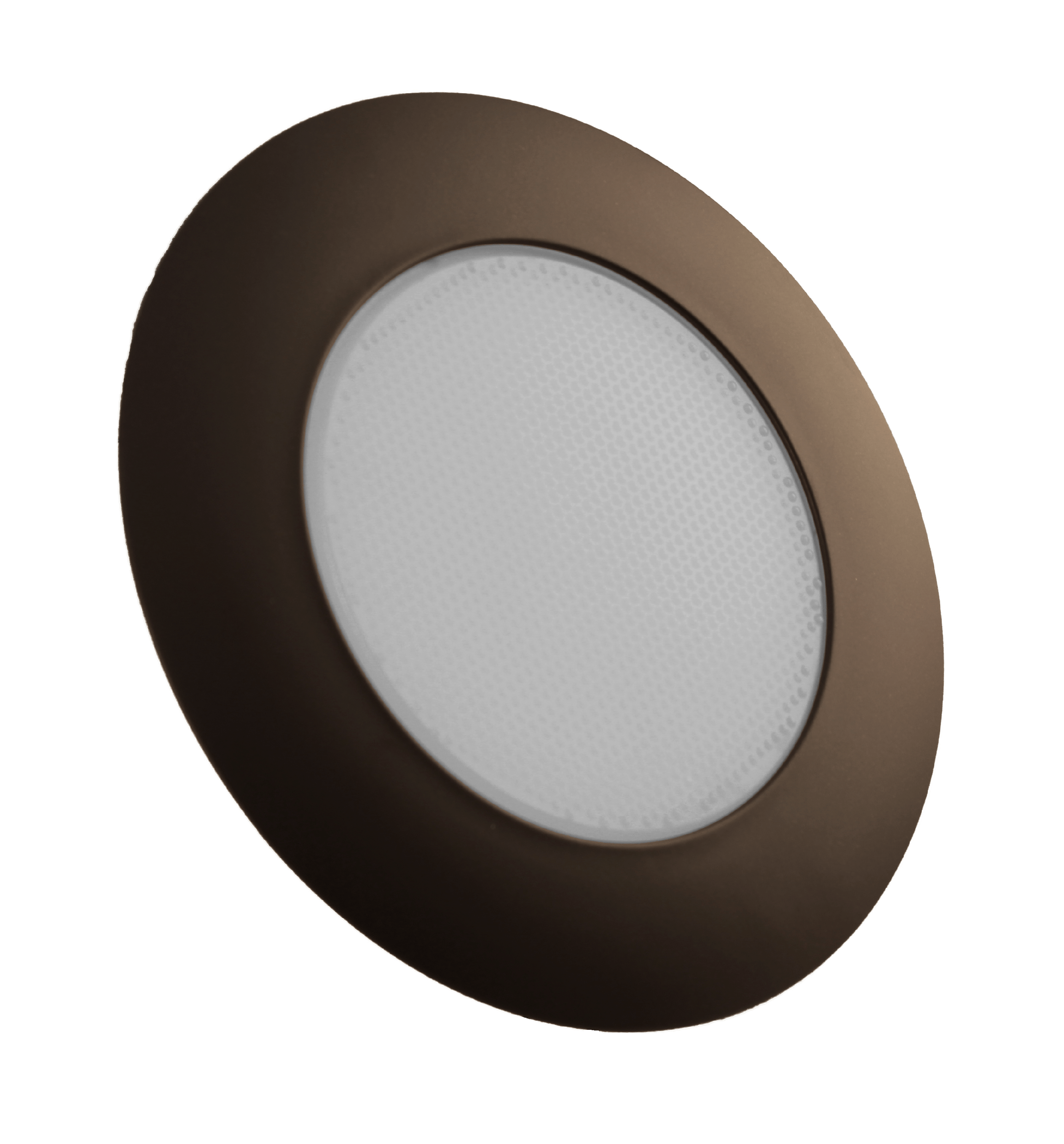 NICOR Lighting 6-Inch Recessed Lexan Shower Trim with Albalite Lens, Oil-Rubbed Bronze (17505OB)