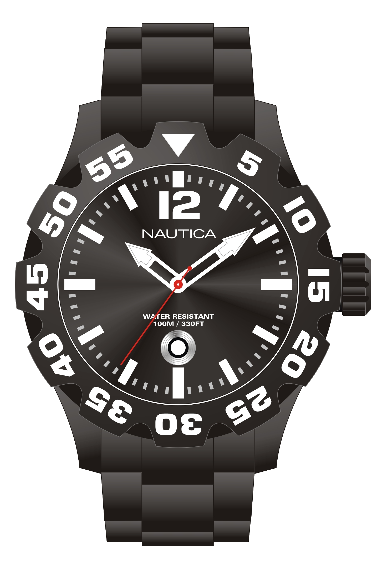 NAUTICA MEN'S WATCH BFD 100 DATE 47MM by Nautica