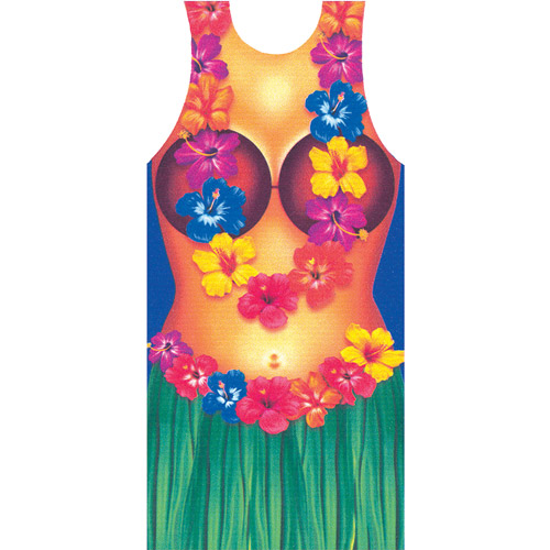 Hula Woman Apron Adult Halloween Accessory
