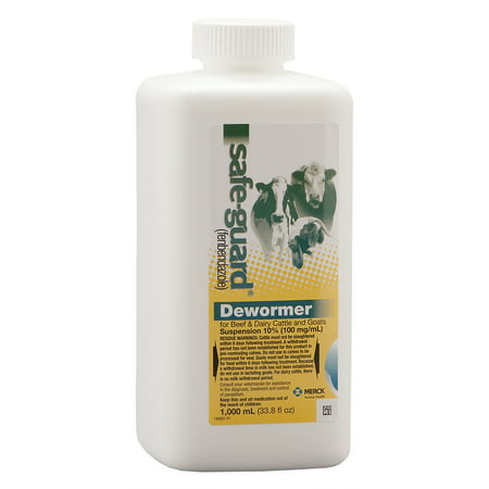 SafeGuard 10% Suspension Cattle and Goat Dewormer, 1000 mL (1 Liter)