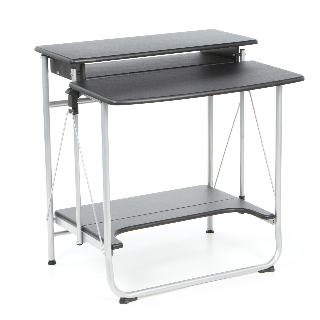 Comfort Products Freeley Folding Computer Desk Walmartcom