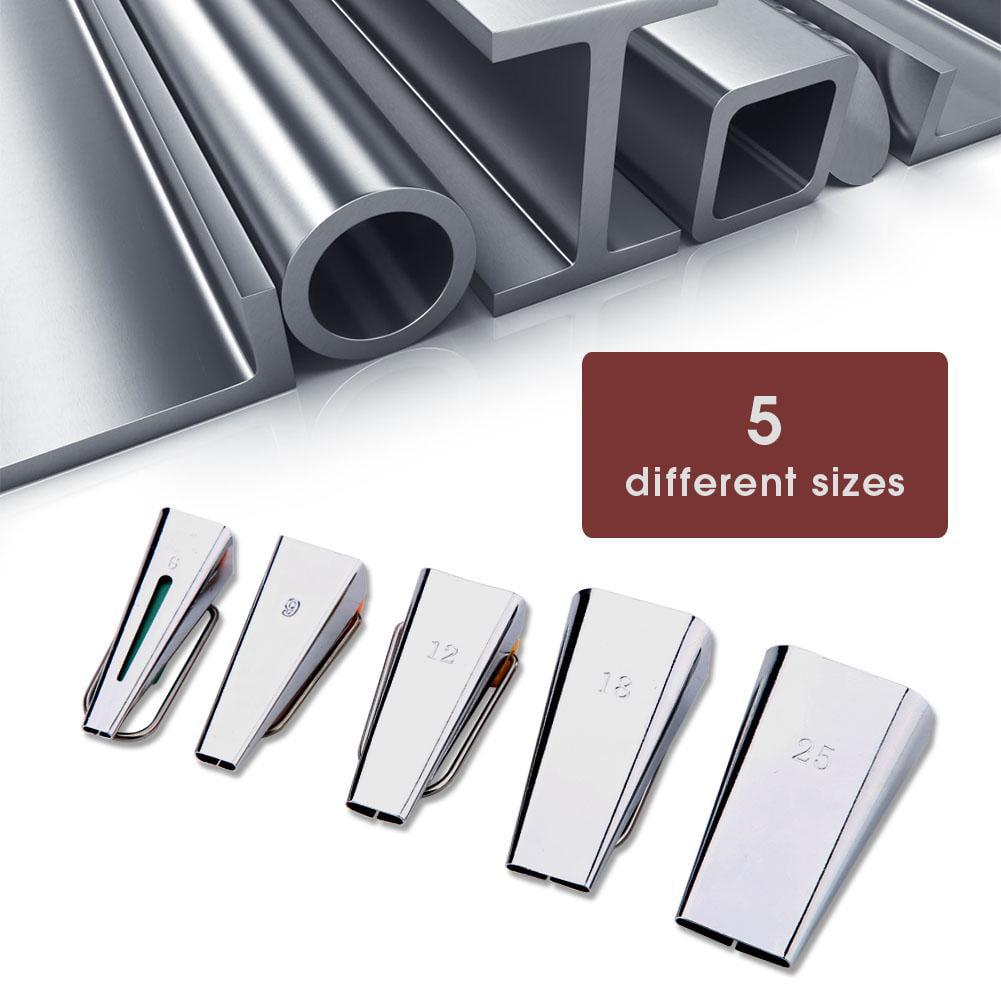 5pcs Fabric Tape Maker Tool Set DIY Sewing Quilting Bias Binding Maker
