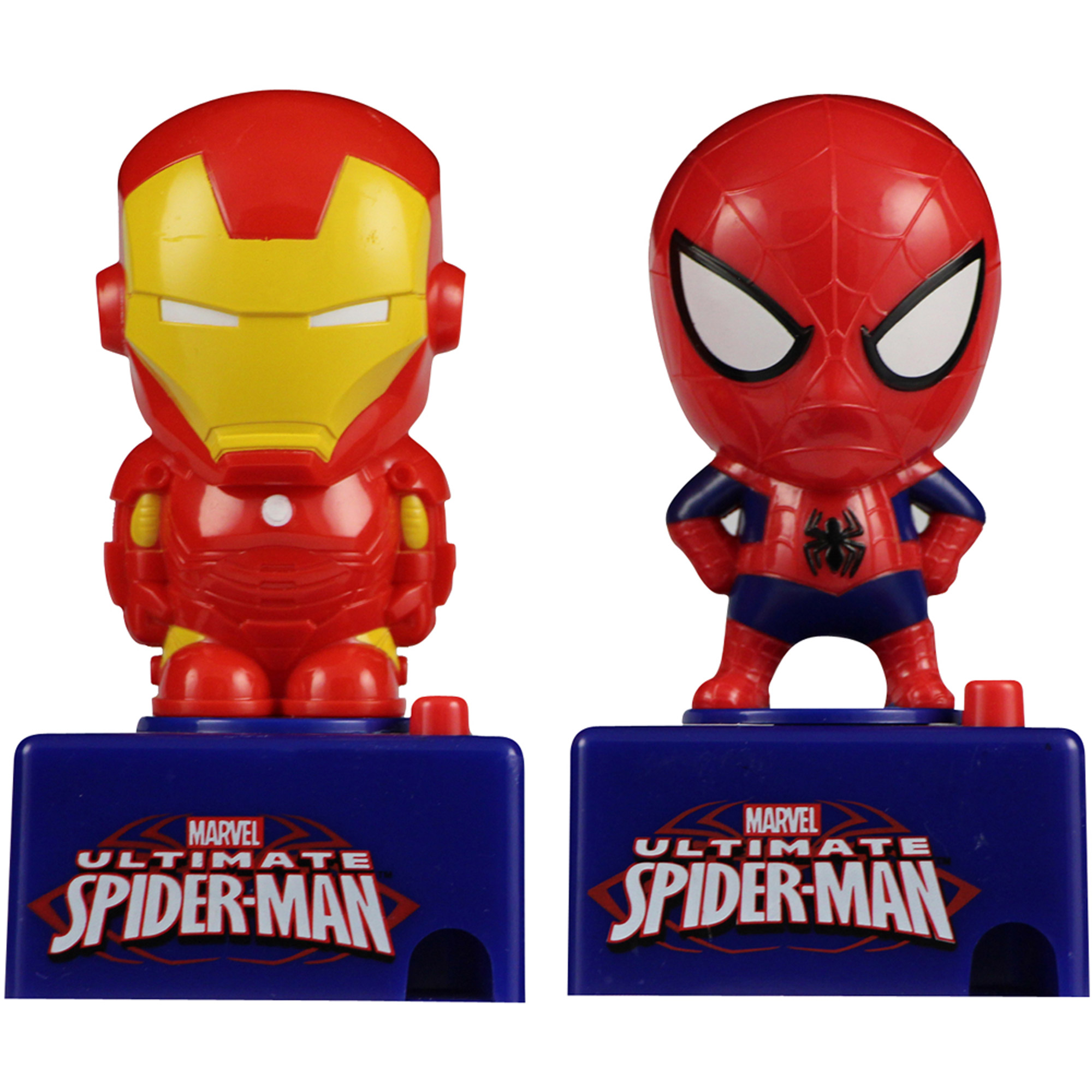 Marvel Candy Pieces Dispenser with Sound, 0.3 oz, Pack of 6