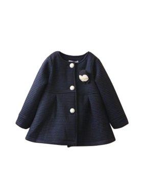 12d4c43cff9b Baby Girls Coats   Jackets - Walmart.com