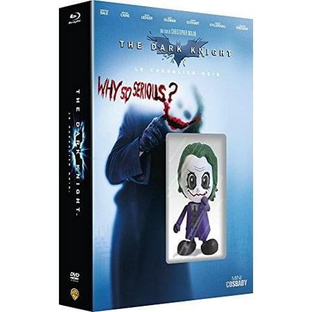 Batman: The Dark Knight - Limited Edition plus Mini Cosbaby Figurine (Blu-Ray & DVD Combo) [ Blu-Ray, Reg.A/B/C Import - France ]